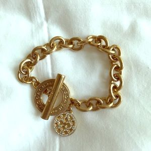 Gold Coach Bracelet
